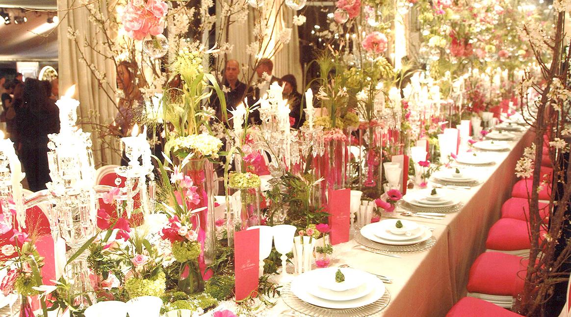 Banquet hôtellerie de luxe